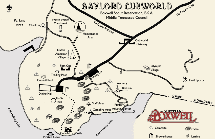 CubWorld Map