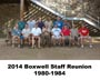 2014 Reunion. 1980-1984 Group.