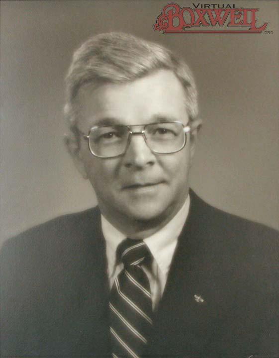 Council Portrait of James Stevens