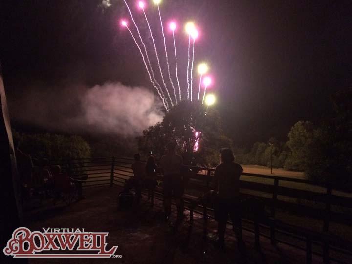 Boxwell Fireworks