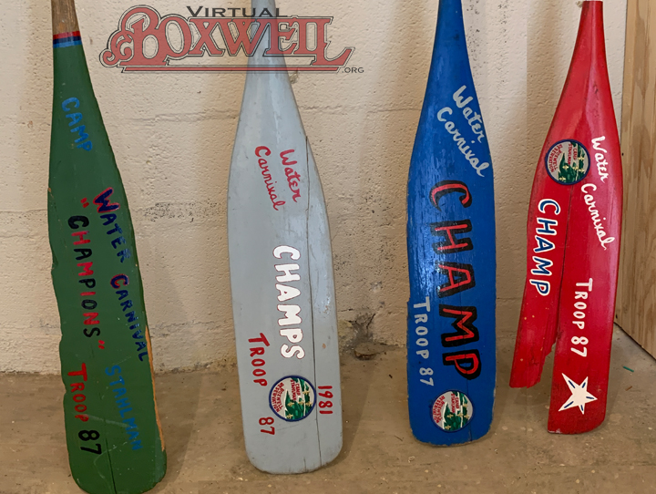 Jim Barr Painted Paddles