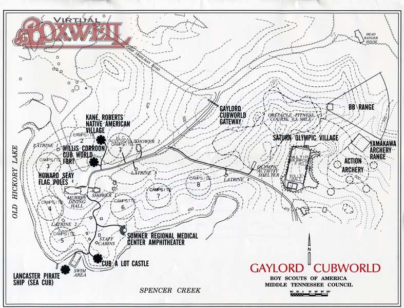 CubWorld Map
