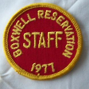 1977 Boxwell Staff Hat Patch