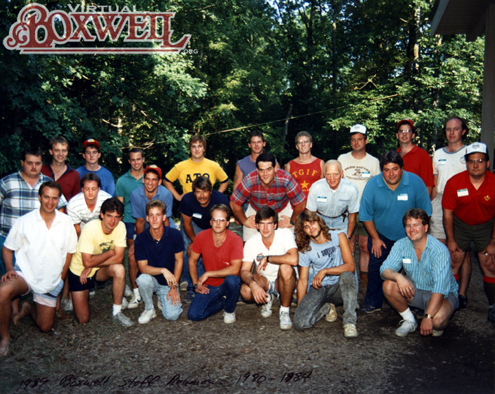 1989 reunion, 1980-1984 group