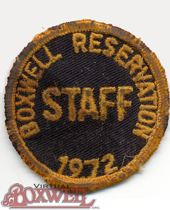 Staff Patch
