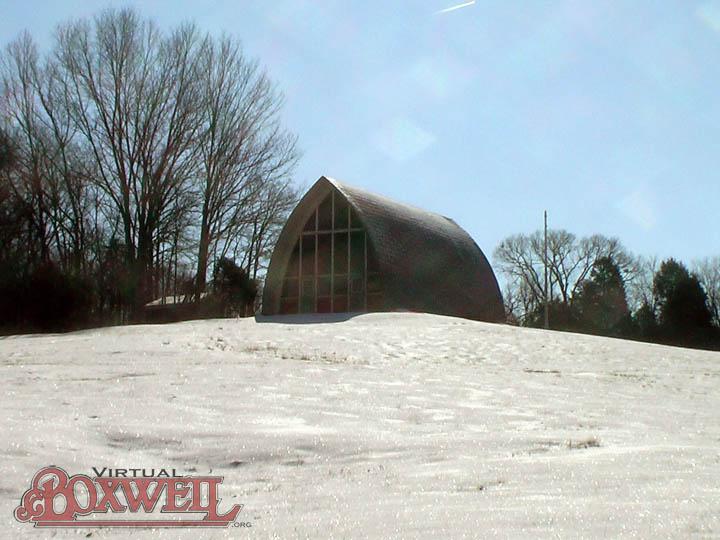 OA Lodge in Snow