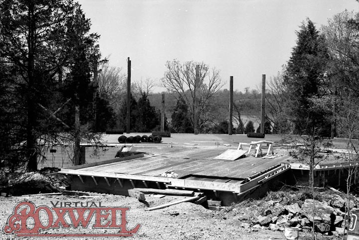 Craig Dining Hall Construction, 1973