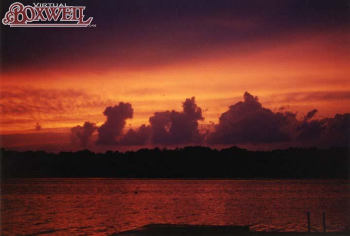 Parnell sunset