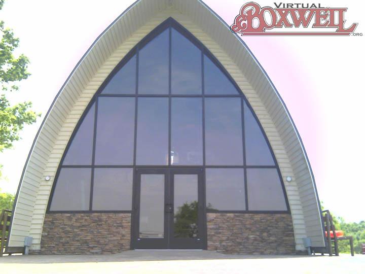 Lodge, Glass Facade