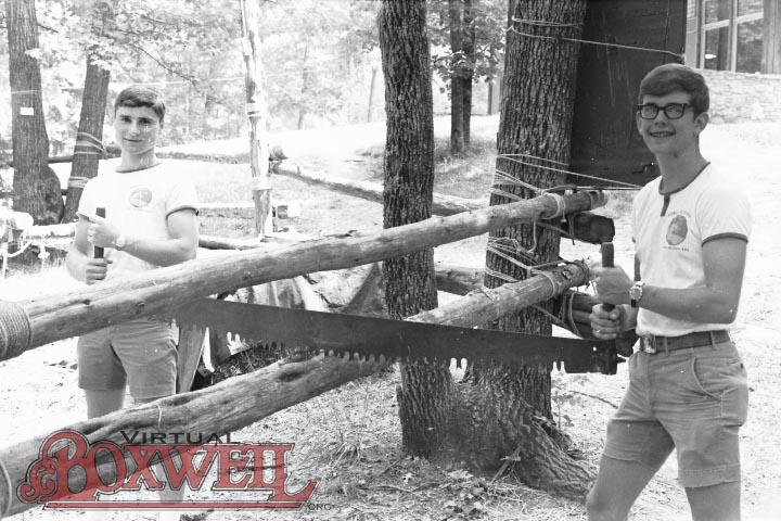 Sawing, 1970