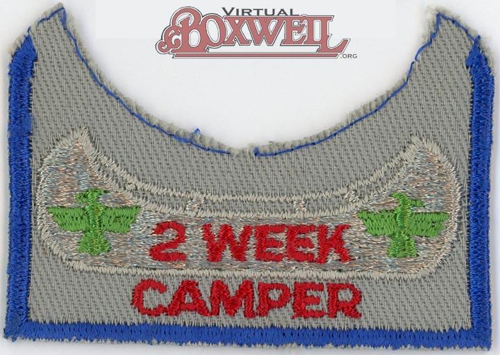 2 Week Camper