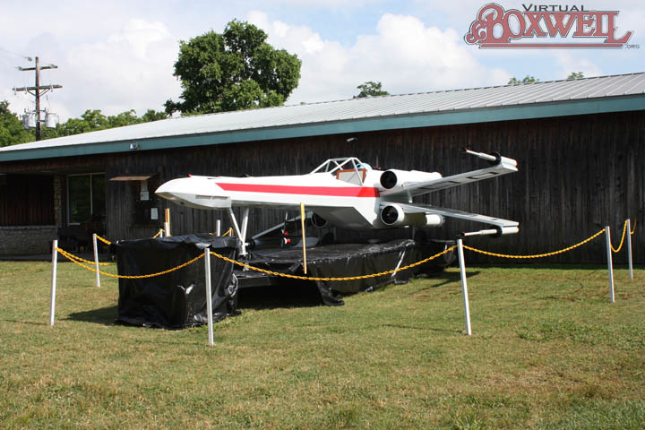 X-Wing at CubWorld