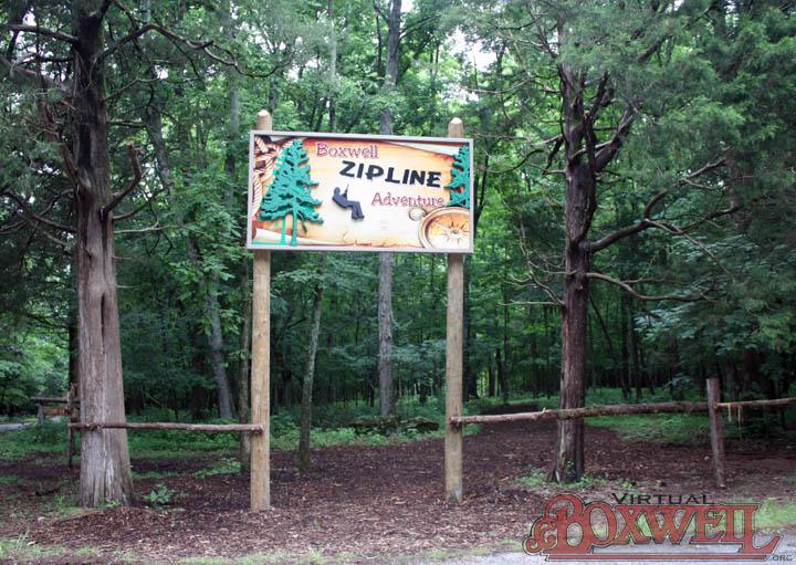 Zipline sign