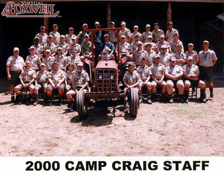 Camp Craig Staff, 2000