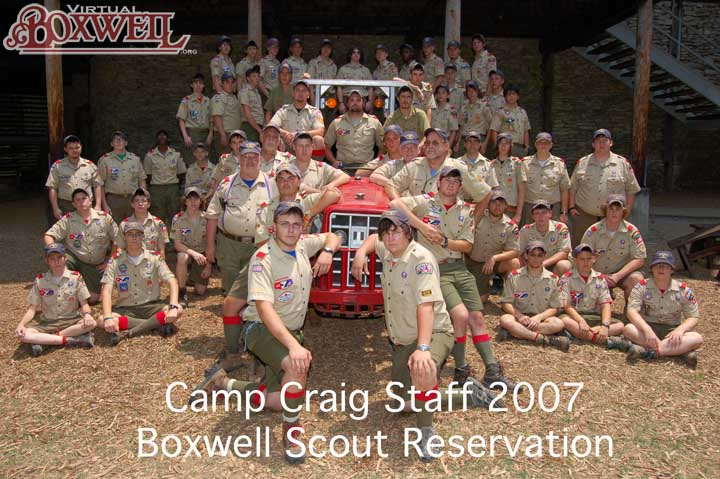 Camp Craig Staff, 2007