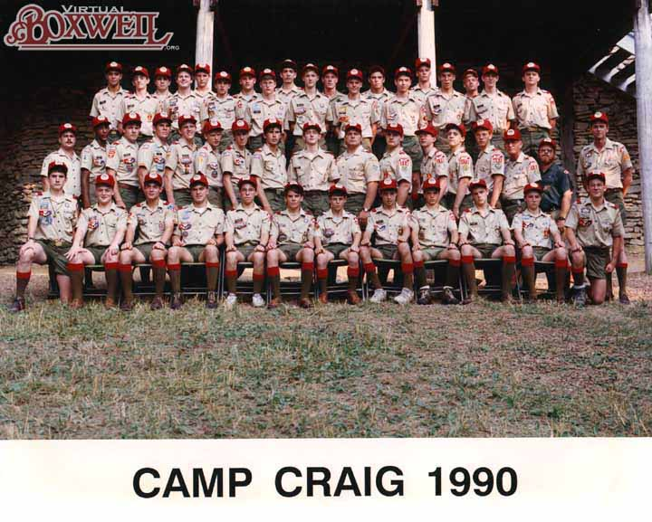 Camp Craig Staff, 1990