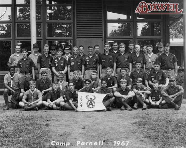 Camp Parnell Staff, 1967