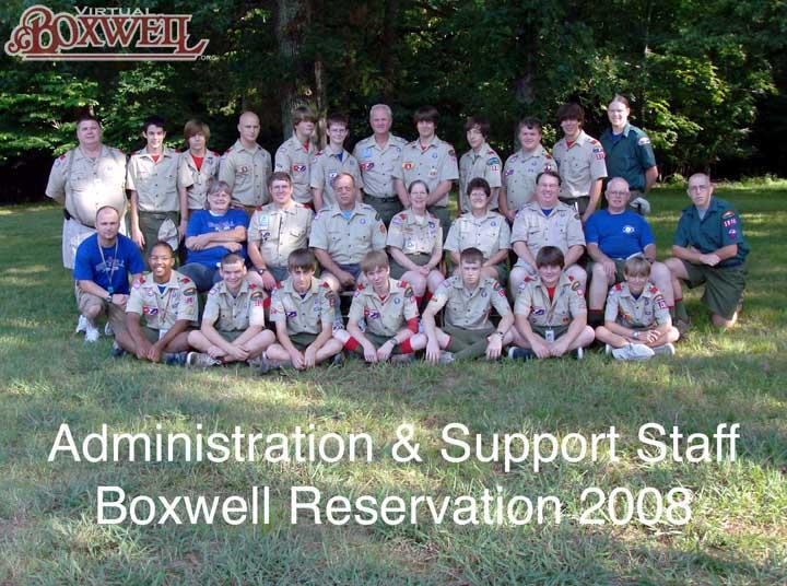 Admin staff 2008