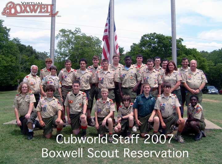 CubWorld Staff, 2007