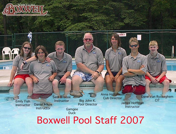 Reservation Pool Staff, 2007