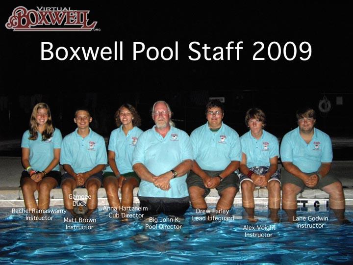 Pool Staff, 2009