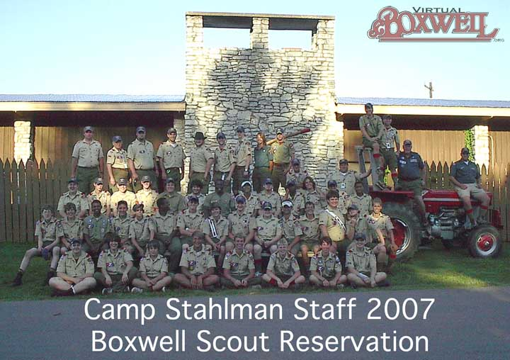 Camp Stahlman Staff, 2007