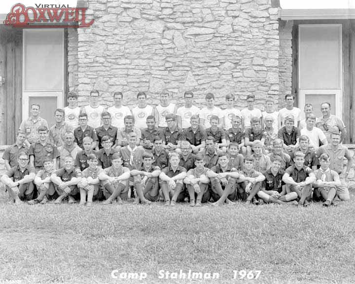 Camp Stahlman Staff, 1967